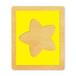 Ellison SureCut Die - Picture Frame, Star - Large