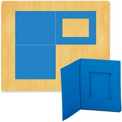 Ellison SureCut Die - Picture Frame, Fold-Up Wallet - Extra Large