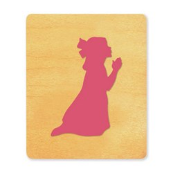 Ellison SureCut Die - Praying Girl - Large