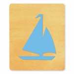 Ellison SureCut Die - Sailboat - Extra Large