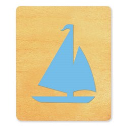 Ellison SureCut Die - Sailboat - Large