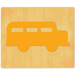 Ellison SureCut Die - School Bus #1A - Small
