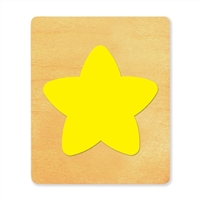 Ellison SureCut Die - Star, Puffy - Large