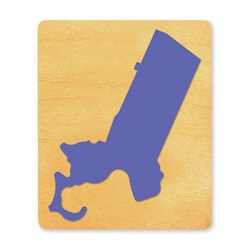 Ellison SureCut Die - State of Massachusetts - Large