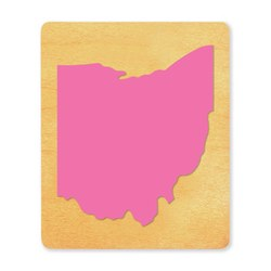 Ellison SureCut Die - State of Ohio - Large