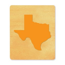 Ellison SureCut Die - State of Texas - Large