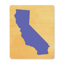 Ellison SureCut Die - State of California - Large