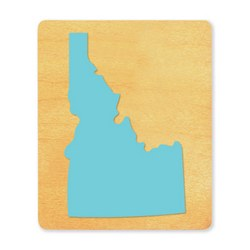 Ellison SureCut Die - State of Idaho - Large