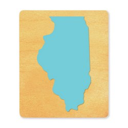Ellison SureCut Die - State of Illinois - Large