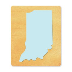 Ellison SureCut Die - State of Indiana - Large