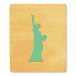 Ellison SureCut Die - Statue of Liberty - Large