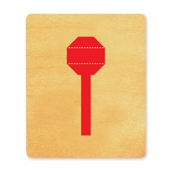 Ellison SureCut Die - Stop Sign - Large