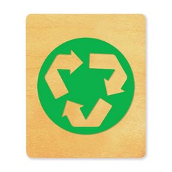 Ellison SureCut Die - Recycle Symbol - Large