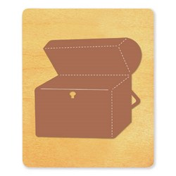 Ellison SureCut Die - Treasure Chest #1B - Extra Large