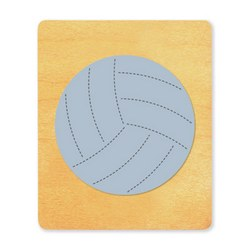 Ellison SureCut Die - Volleyball - Large