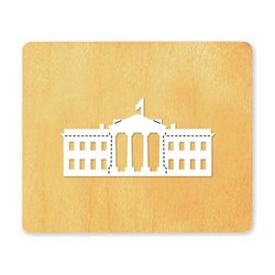 Ellison SureCut Die - White House - Large