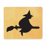Ellison SureCut Die - Witch on Broom - Large