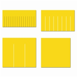 Ellison SureCut Die Set - Fraction Fringe #2 (4 Die Set) - Large