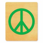 Ellison SureCut Die - Peace Sign - Large
