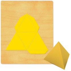 Ellison SureCut Die - Pyramid 3-D #2, Triangle Base - Large