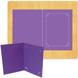 "Ellison SureCut Die - Photo Folder, 4"" x 6"" Photo, 5"" x 7"" Folded - Extra Large"