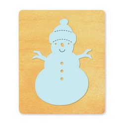 Ellison SureCut Die - Snowman, Country - Large