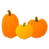 Ellison SureCut Die - Pumpkin Patch - Large