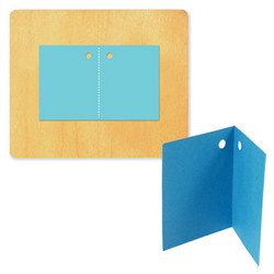 Ellison SureCut Die - Tag, Folded - Large