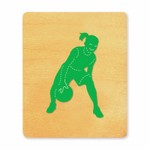 Ellison SureCut Die - Basketball Player, Girl - Large