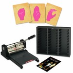Prestige Pro Starter Set w/SureCut Sign Language Alphabet