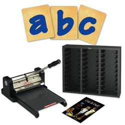 Prestige Pro Starter Set w/SureCut Lollipop Shadow Lowercase Letters