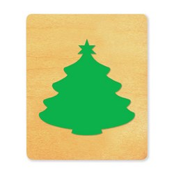 Ellison SureCut Die - Tree, Christmas  - Small