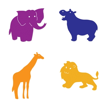 Ellison SureCut Die Set - Zoo Animals  (4 Die Set ) - Small