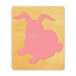 Ellison SureCut Die - Rabbit/Bunny  - Large