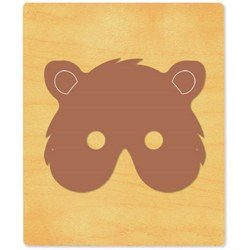 Ellison SureCut Die - Mask, Bear  - Extra Large