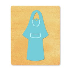 Ellison SureCut Die - Nativity Costume, Joseph  - Large