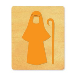 Ellison SureCut Die - Nativity Costume, Shepherd  - Large