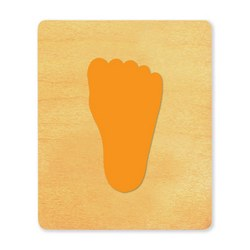 Ellison SureCut Die - Footprint, Child  - Large