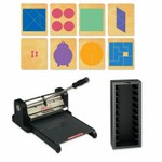 Ellison Prestige Pro Starter Set w/SureCut Multipurpose Math Set - Large
