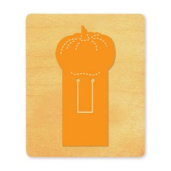 Ellison SureCut Die - Bookmark, Pumpkin - Large