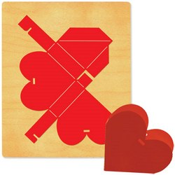 Ellison SureCut Die - Box, Heart - Extra Large