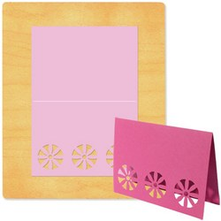 Ellison SureCut Die - Card w/Flower #2 - Extra Large
