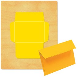 Ellison SureCut Die - Envelope, Notecard w/Scallop - Extra Large