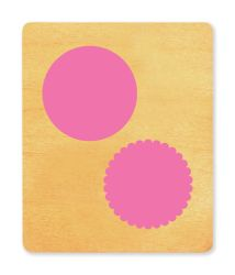 Ellison SureCut Die - Notecard, Scallop Circle - Extra Large