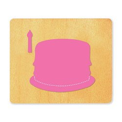 Ellison SureCut Die - Birthday Cake & Candle  - Large