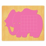 Ellison SureCut Die - Activity Card, Elephant - Extra Large