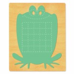 Ellison SureCut Die - Activity Card, Frog - Extra Large