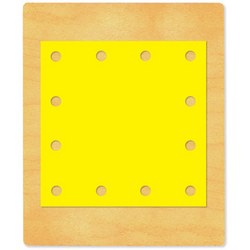 Ellison SureCut Die - Lacing Square #2 - Large