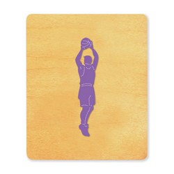 Ellison SureCut Die - Basketball Player #2 - Large