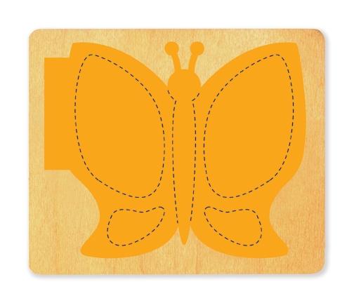 Die Cut Book Cover Design ~ Ellison surecut die book butterfly cover page